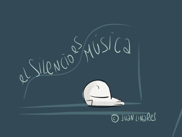 El Silencio es música.