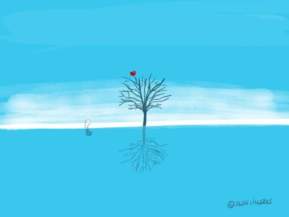 turquesa arbol